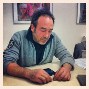 Massimo Porzi at the FELCOS office