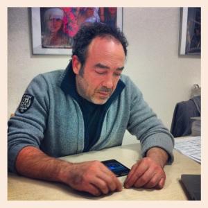 Massimo Porzi at the FELCOS office